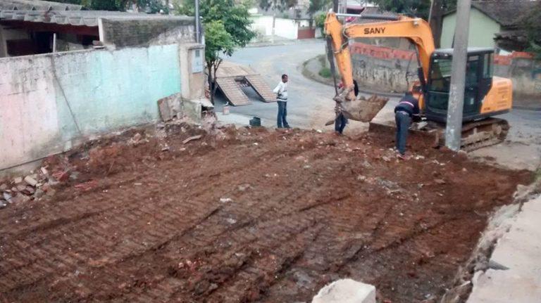 demolição e limpeza SP